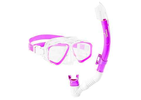Speedo JR Adventure Mask & Snorkel Set