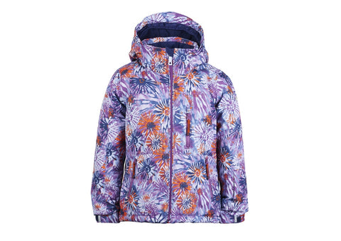 (Final Sale) KM Aria Flowerburst Jacket 8000 Mm