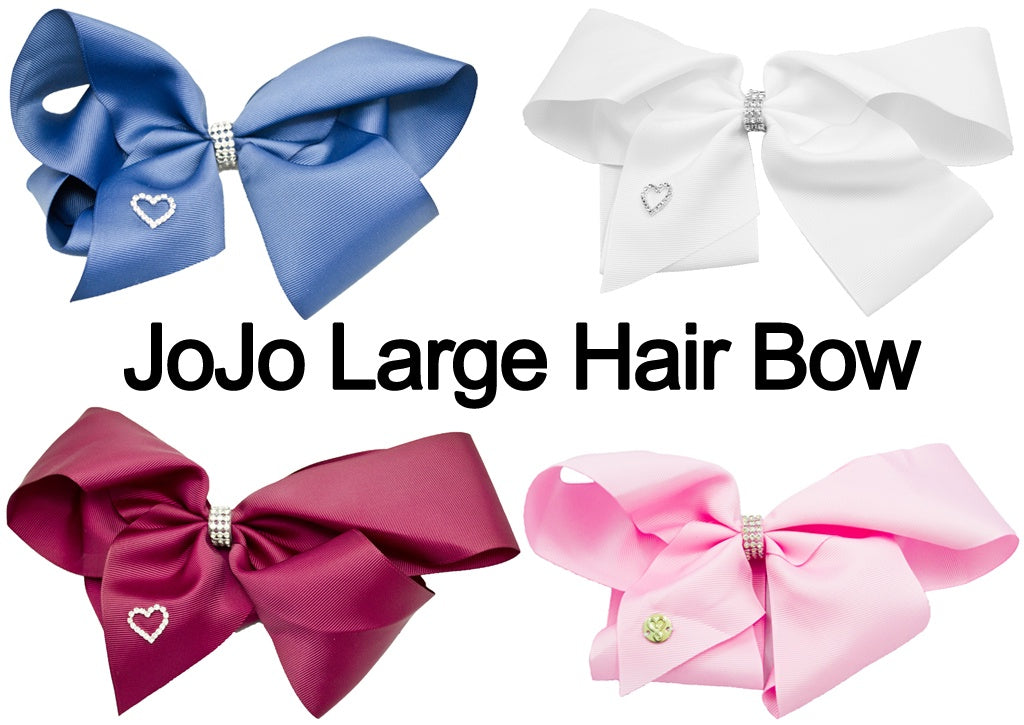 MO JOJO Bow With Glitter Belt & JOJO Logo