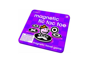(Final Sale) TS Magnetic Travel Games Tic Tac Toe