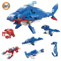 (Final Sale) Sea Animals Building Block
