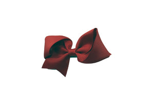 (Final Sale) MO Hair Clip With 11 CM Grosgrain Bow
