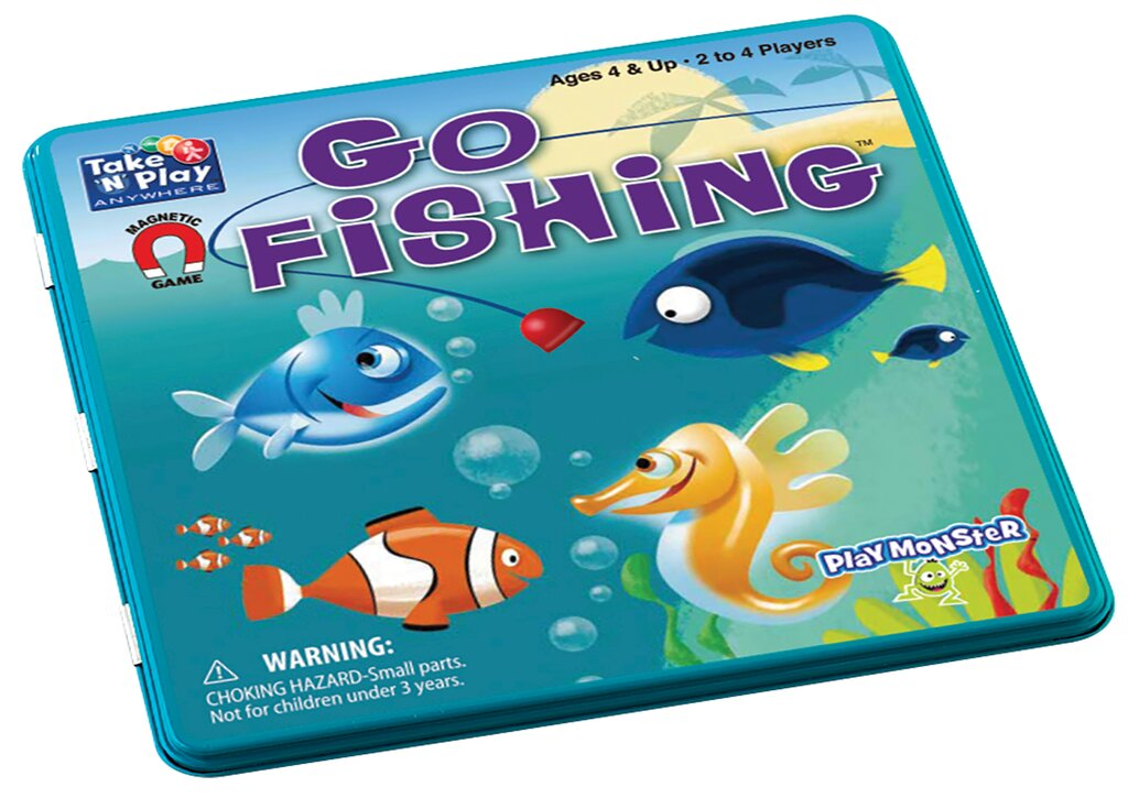 PM Magnetic Travel Games Fishing