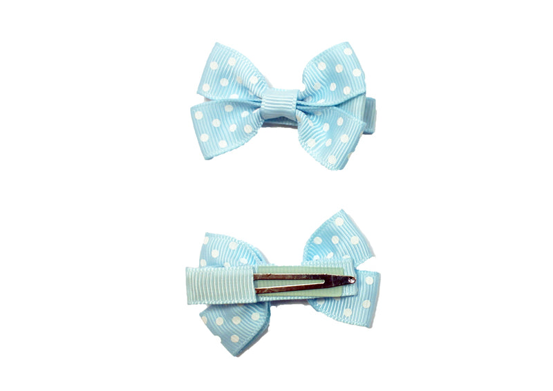 (Final Sale) MO Hair Clip With 5.5 CM Grosgrain Bow