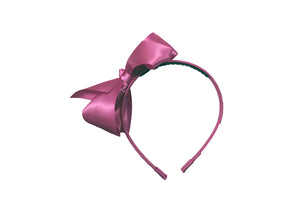 MO Polyester Headband With 11.5 CM Bow