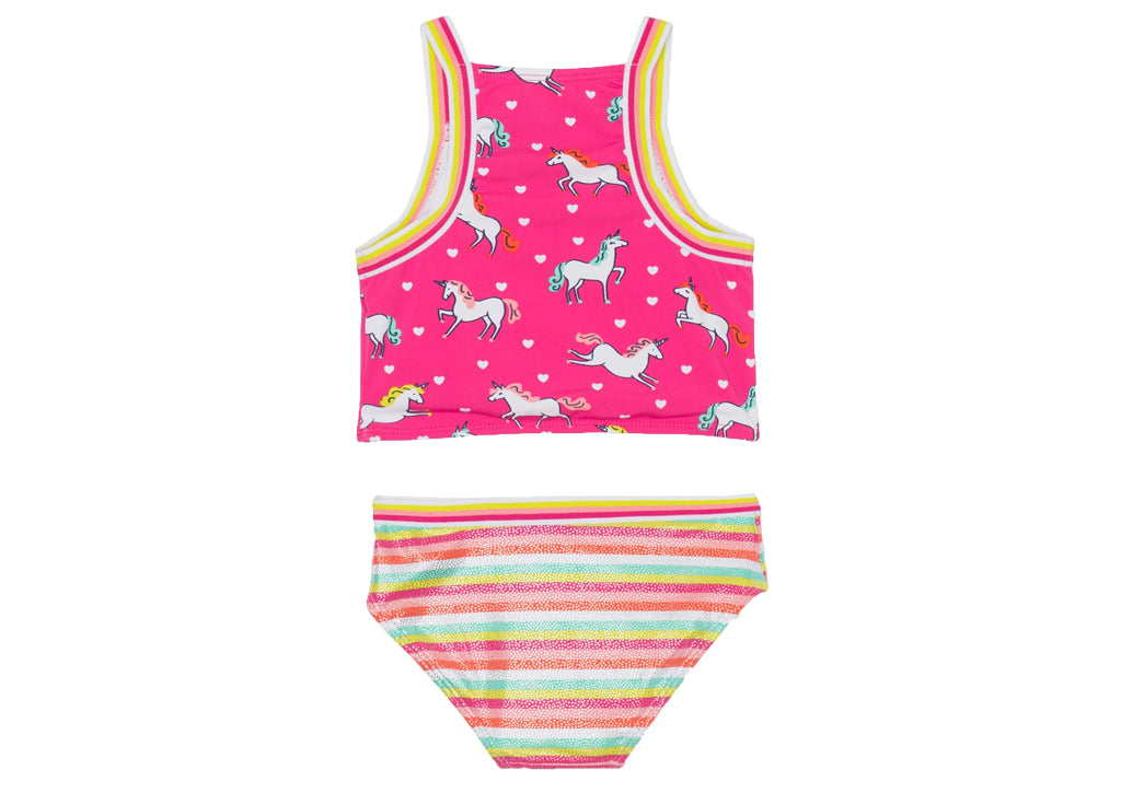 (Final Sale) Hatley Prancing Unicorns Tankini Set