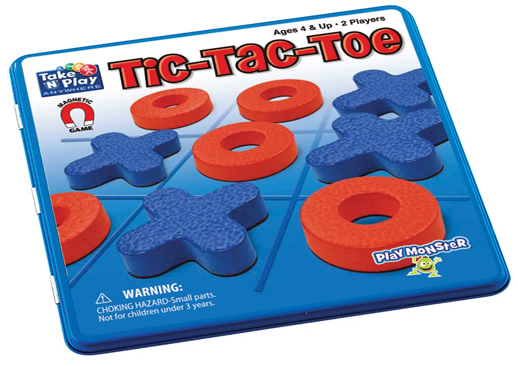 (Final Sale) PM Magnetic Travel Games Tic Tac Toe