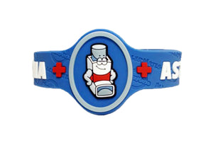 AM Asthma Allergy Bracelet