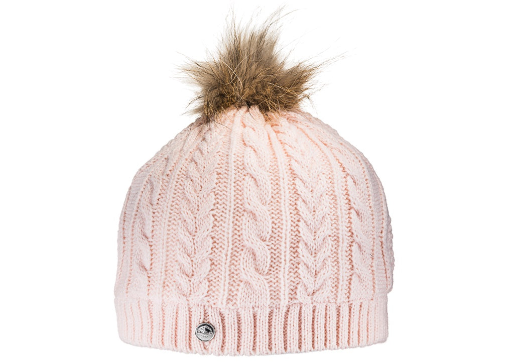 Bula Rose Beanie With Pom pom