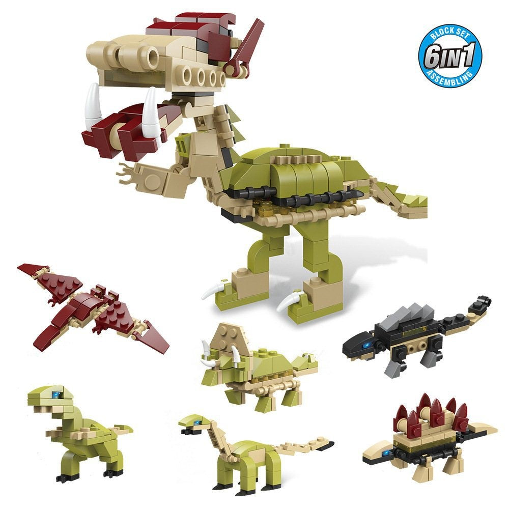 (Final Sale) Dinosaur Building Block