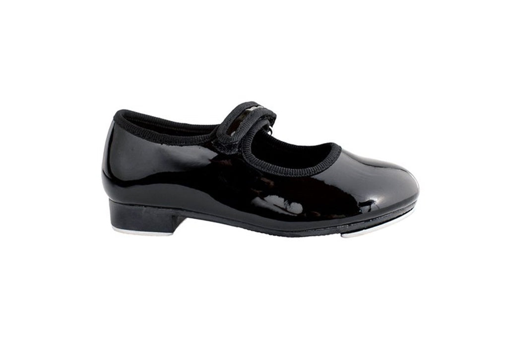 (Final Sale) TF Velcro Tap Shoe Black