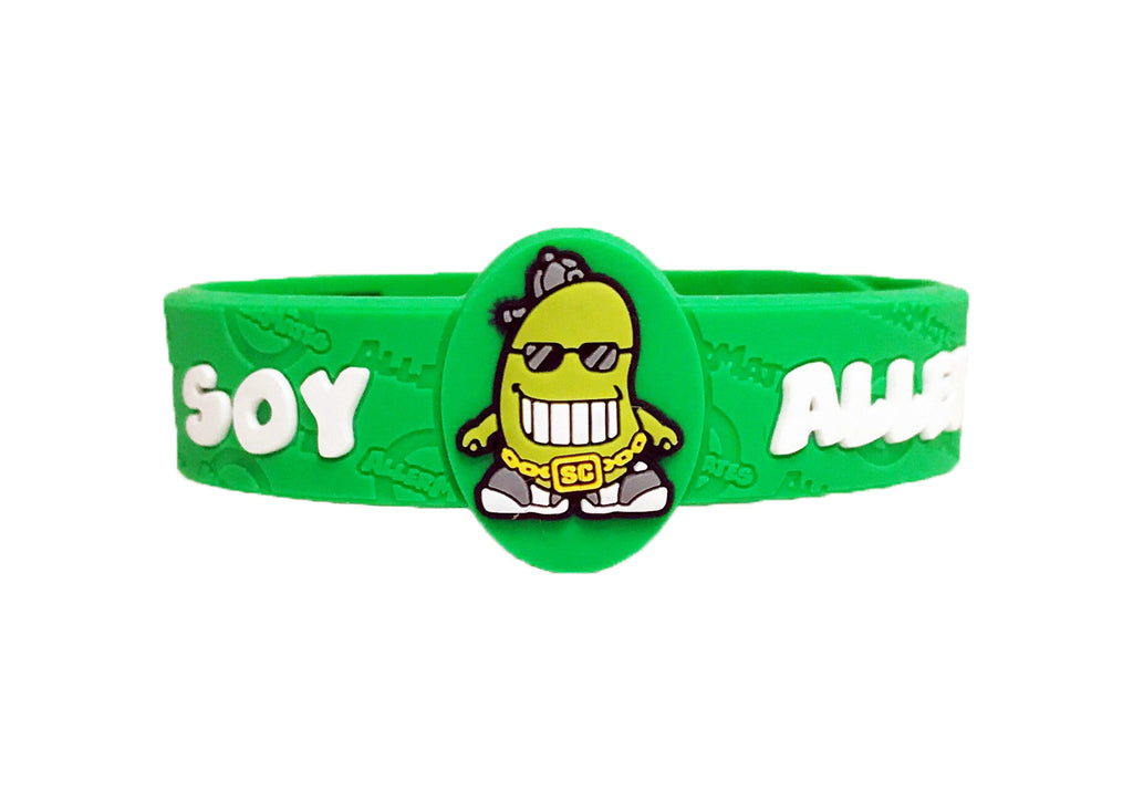 AM Soy Allergy Bracelet