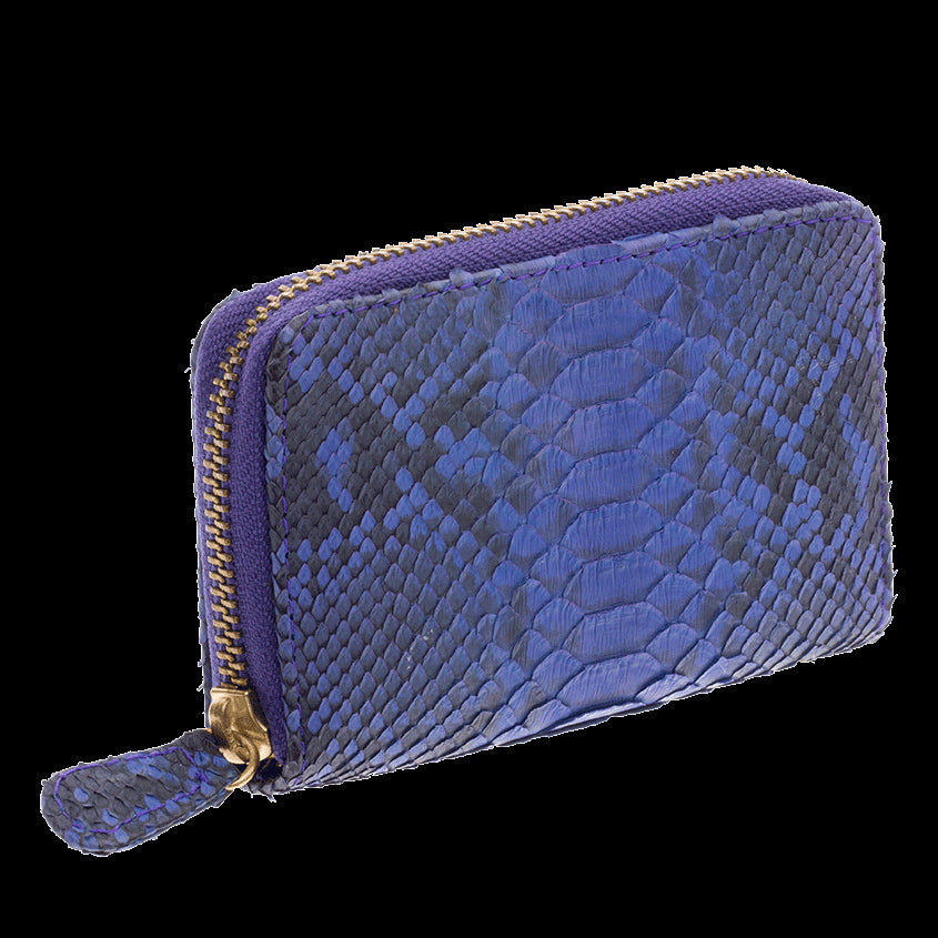 Ximena Kavalekas Python - Yiya (The Mini Wallet) Purple Scaled