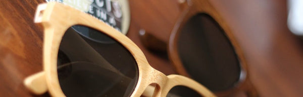 Floating Polarized Bamboo Sunglasses