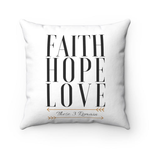 Faith Hope Love Pillows - Vogue
