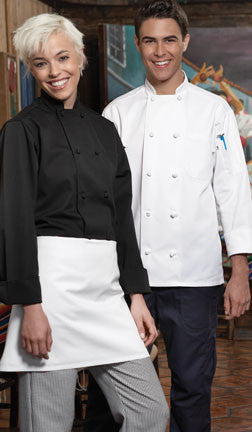 Classic Knot Chef Coat by Uncommon Threads™ - The Chef Hat - 1