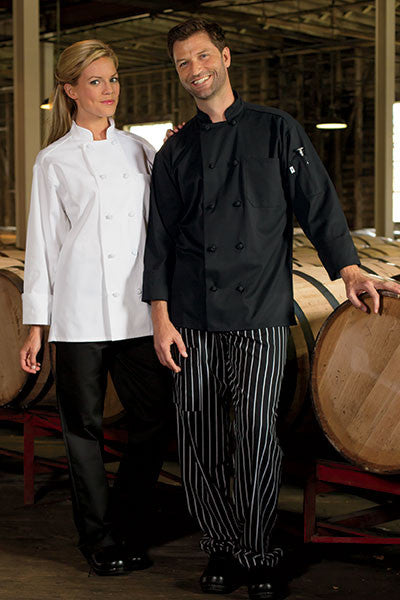Classic Knot Chef Coat by Uncommon Threads™ - The Chef Hat - 2