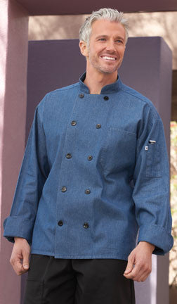 Chambray Chef Coat by Uncommon Threads™ - The Chef Hat