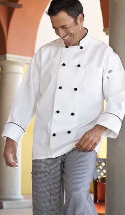 Barcelona Chef Coat by Uncommon Threads™ - The Chef Hat - 1