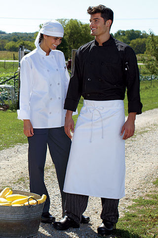 Classic Poplin Chef Coat by Uncommon Threads™ - The Chef Hat