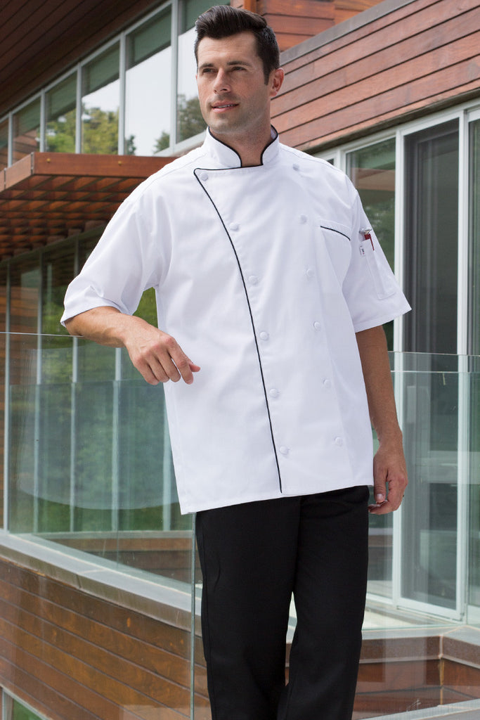 Montebello Chef Coat by Uncommon Threads™ - The Chef Hat