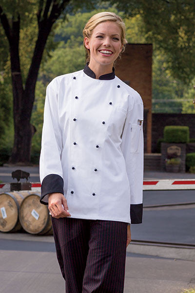 Rialto Chef Coat by Uncommon Threads™ - The Chef Hat - 2