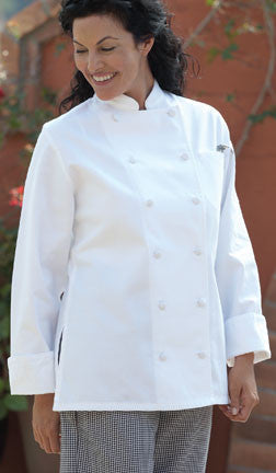 Navona Women's Chef Coat by Uncommon Threads™ - The Chef Hat