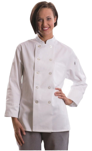 Napa Women's Chef Coat by Uncommon Threads™ - The Chef Hat - 2