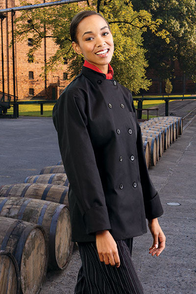 Napa Women's Chef Coat by Uncommon Threads™ - The Chef Hat - 3