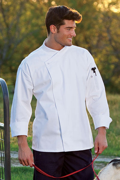 Santorini Chef Coat by Uncommon Threads™ - The Chef Hat - 2