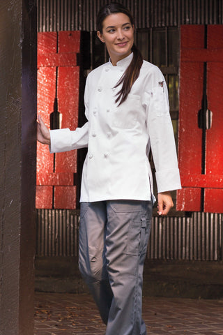 Sedona Women's Chef Coat by Uncommon Threads™ - The Chef Hat - 1