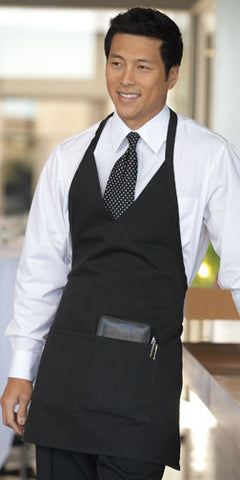 Formal V-Neck Apron - The Chef Hat