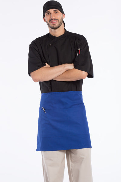 Half Waist 2-Section Pocket Apron - The Chef Hat - 8