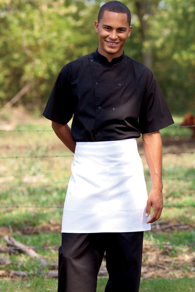 Half Waist 2-Section Pocket Apron - The Chef Hat - 2