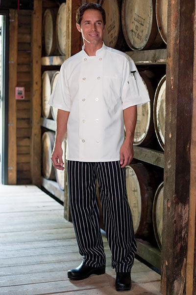 Classic Baggy Chef Pants - The Chef Hat - 4