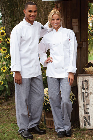 Classic Baggy Chef Pants - The Chef Hat - 1