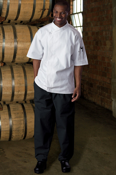 Classic Baggy Chef Pants with Zipper - The Chef Hat - 1