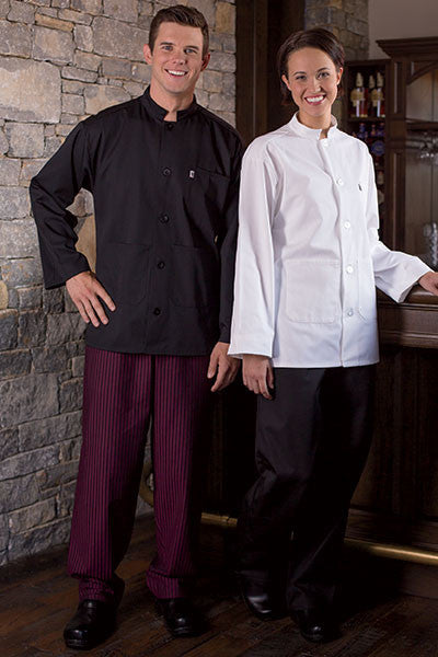 Yarn Dyed Baggy Chef Pants - The Chef Hat - 1
