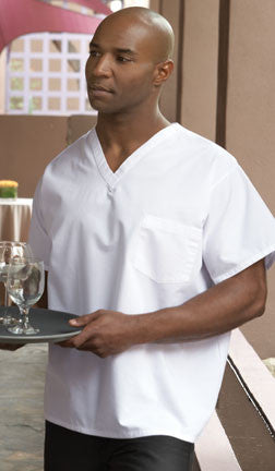 V-Neck Utility Shirt - The Chef Hat