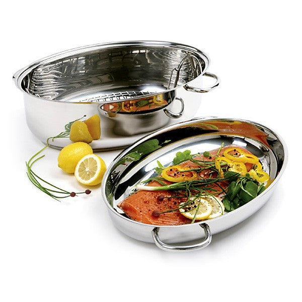 Norpro Krona® Stainless Steel 12 Quart Multi Roaster - The Chef Hat - 2