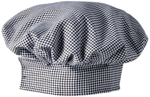 Twill Chef's Toque - Houndstooth - The Chef Hat - 1