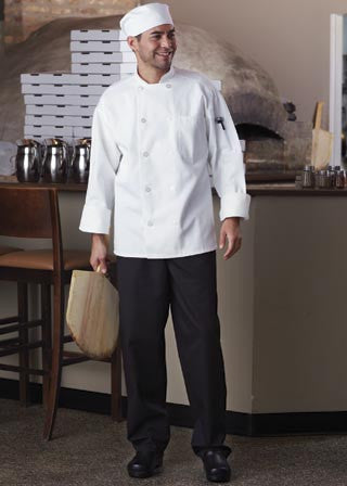 Classic Chef Coat with Mesh by Uncommon Threads™ - The Chef Hat
