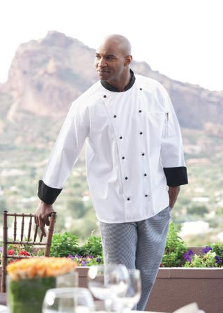 Rialto Chef Coat by Uncommon Threads™ - The Chef Hat - 1