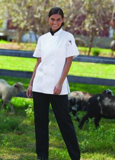 Tahoe Women's Chef Coat by Uncommon Threads™ - The Chef Hat - 1