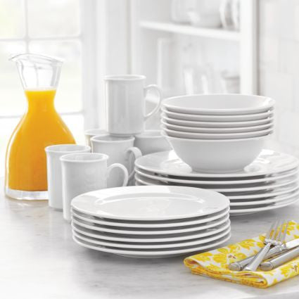 Bistro 24-Piece Dinnerware Set - The Chef Hat - 1
