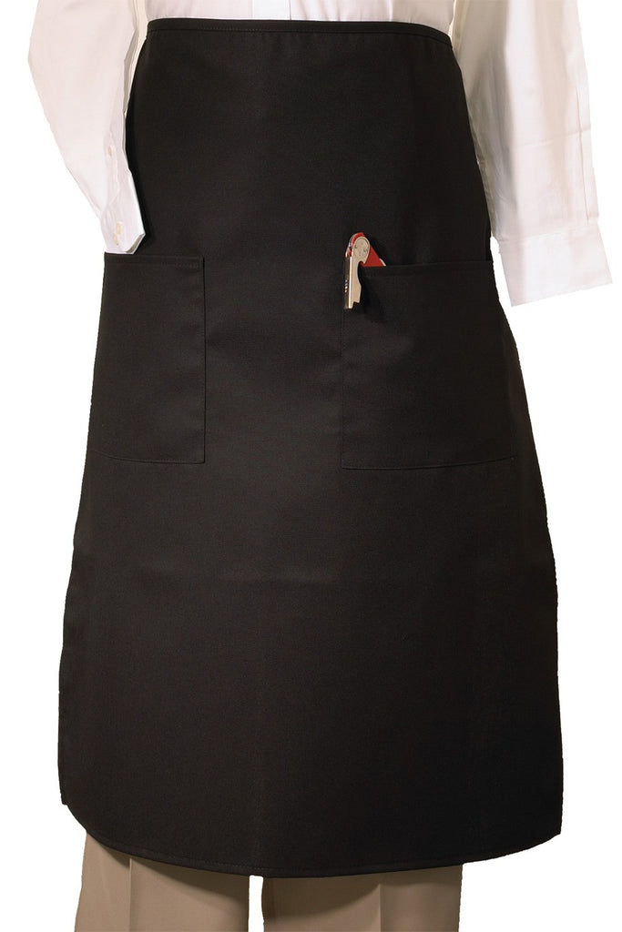 2-Pockets Bistro Apron - The Chef Hat - 1