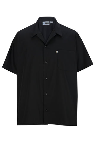 Classic Utility Kitchen Shirt w/Mesh Back - The Chef Hat - 1