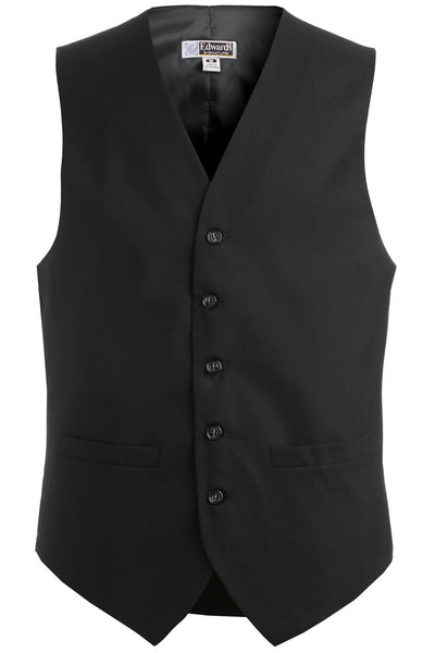 Edwards Garment Men's High Button Pocket Vest - The Chef Hat - 2