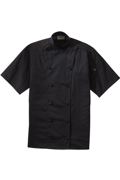 Edwards Garment 12-Button Moisture Wicking Short Sleeve Chef Coat - The Chef Hat - 2