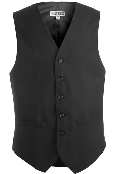 Edwards Garment Men's High Button Pocket Vest - The Chef Hat - 3